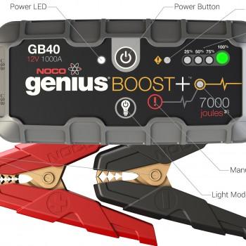 Noco Genius GB40 Booster Jumpstarter 12V 1000A-1