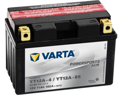 VARTA AGM YT12A-4 YT12A-BS 511901014