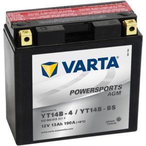 VARTA AGM YT14B-4 YT14B-BS 512903013