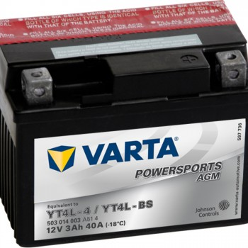 VARTA AGM YT4L-4 YT4L-BS 503014003
