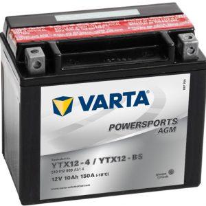 VARTA AGM YTX12-4 YTX12-BS 510012009