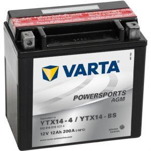 VARTA AGM YTX14-4 YTX14-BS 512014010