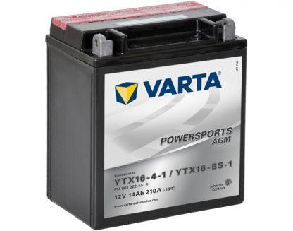 VARTA AGM YTX16-4-1 YTX16-BS-1 514901022