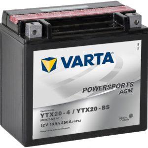 VARTA AGM YTX20-4 YTX20-BS 518902026