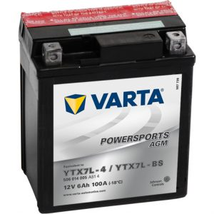 VARTA AGM YTX7L-4 YTX7L-BS 506014005