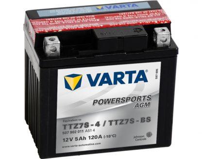 VARTA AGM YTZ7S-4 YTZ7S-BS 507902011
