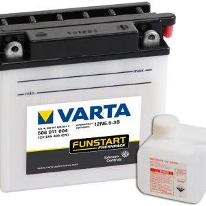 VARTA Freshpack 12N5.5-3B 506011004